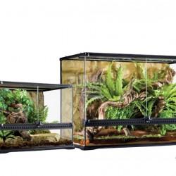ZunboZoo Florárium Tégla forma Üvegből
